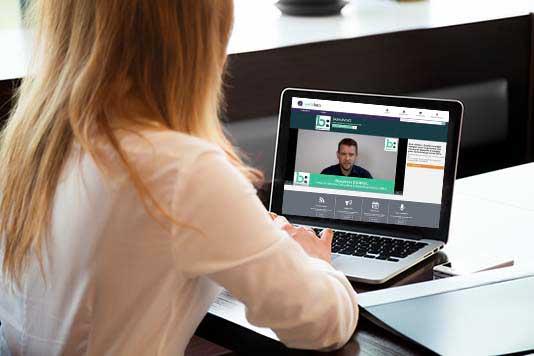 Webinaire, webinar, présentation commerciale