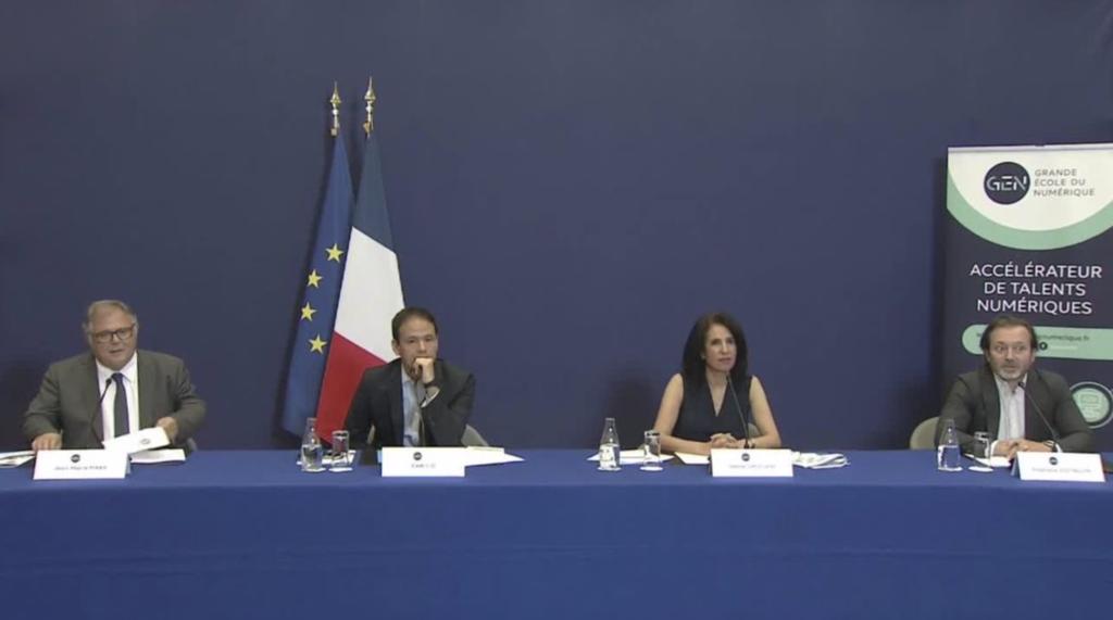 Diffusion de conférence de presse à Bercy