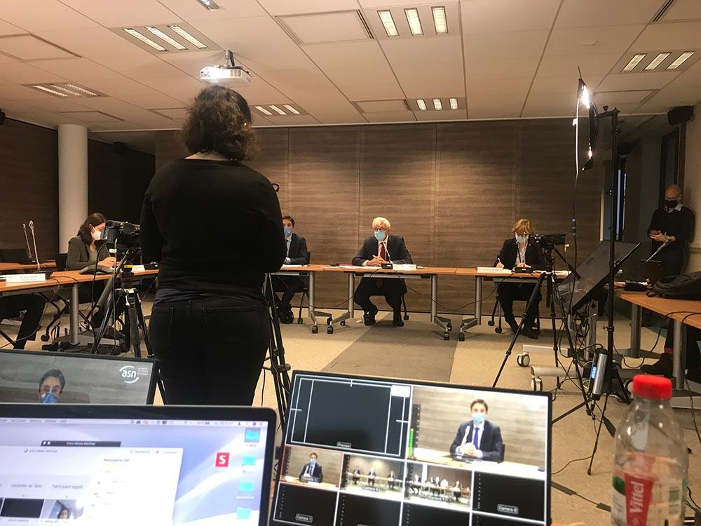 Conférence de presse à l'Autorité de Sûreté Nucléaire